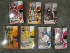 NEW Hasbro Power Rangers Lightning Collection Mighty Morphin Lot of 7 MINT