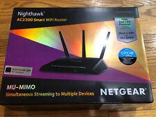 Used Netgear Nighthawk AC2300 Smart WiFi Router - Dual Band - R7000P-100NAS