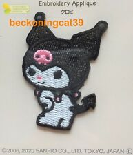 Love Sanrio Character Kuromi Embroidered Applique Patch Badge Sew Iron On JAPAN