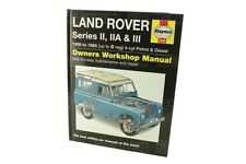 Land Rover Haynes Manual - Series 2a & 3 Part# BA3029A