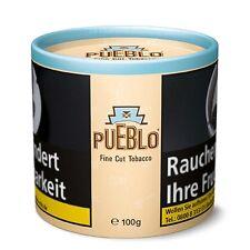 8 x 100g Pueblo Feinschnitt Tabak Naturbelassen  Dose