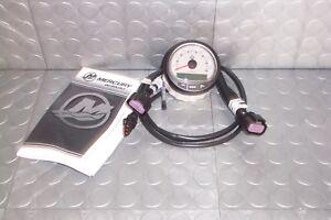 Mercury Marine SmartCraft SC1000 Tachometer Grey LCD  PN 79-8M0135645  8M0079897