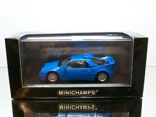 MINICHAMPS 080202 FORD RS 200 - ELECTRIC  BLUE 1:43 - EXCELLENT IN BOX