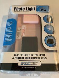 Dream Gear Photo Light - Camera Light & Lens Cover Kit for Nintendo DSI