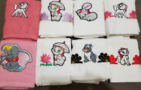 1 New Kitchen Crochet Top Towel #T1041 - #T1050 -- Embroidered Disney Animals
