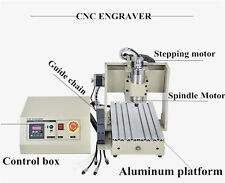 (0.8kw) 3020 CNC Router Incisore 4 Axis Engraving machine ER11-A Water cooling
