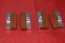 Imperial post bike brake shoes pads blocks orange 2 pairs vintage retro NOS