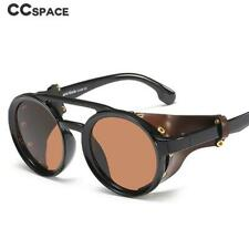 Men Steampunk Goggles Sunglasses 2020 Women Retro Shades UV400 Vintage Glasses 4