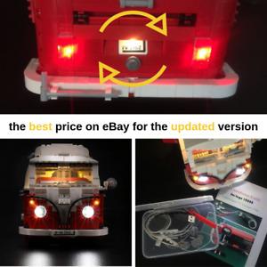 Led Light Kit Only For 10220 The Volkswagen T1 Camper Van Lighting Bricks 10220