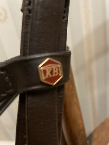 ALBION  EXTRA FULL SIZE COMPETITION BRIDLE with FLASH NOSEBAND- NEW!