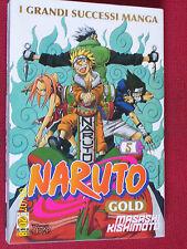 NARUTO GOLD- N°5-  DI:MASASHI KISHIMOTO- MANGA PANINI- esaurito raro