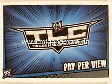 Slam Attax Rumble - TLC - Pay per View