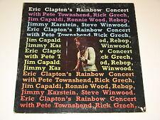 ERIC CLAPTON'S RAINBOW CONCERT Lp RECORD GATEFOLD 1973