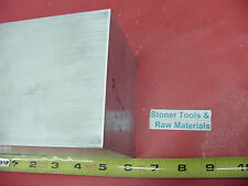 """4 Pieces 4""""x 4"""" ALUMINUM 6061 SQUARE SOLID BAR 6"""" long T6511 Flat New Mill Stock"""
