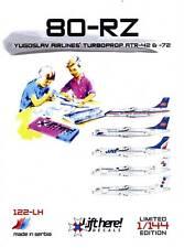 lh122/ Lift Here Decals - ATR-42 u. -72 - JAT u. AIR SRPSKA - 1/144 - TOPP