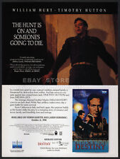 A TIME OF DESTINY__Orig. 1988 Trade print AD promo__MELISSA LEO__TIMOTHY HUTTON