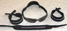 Hold on to you sunglasses neoprene sports strap band holder grip black/red/green