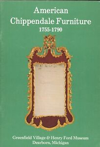 American Chippendale Furniture 1755-1790 Identification / Illustrated Book