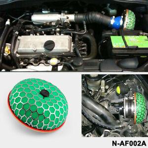 Mushroom 100mm Super Power Flow Cold Car Air Filter Intake Turbo Induction JDM