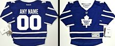 NWT ANY NAME/NUMBER TORONTO MAPLE LEAFS INFANT/BABY REEBOK JERSEY FLOCK CRESTED