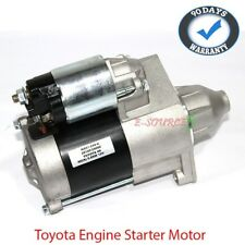 NEW Engine Starter Motor 12V Toyota Daihatsu Manual M/T 3K / 4K / 5K 9 Splines