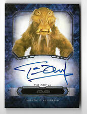 2016 Topps Star Wars Masterwork Autograph Tim Dry as J'Quille