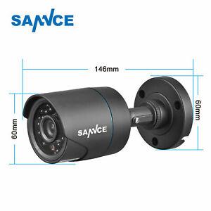 SANNCE 1pcs 900TVL Bullet CCTV Camera for Surveillance Camera System IR Night UK