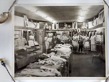 Coca-Cola Glossy Photo Advertising w People in a Store Original 8 x 10 1950s VT