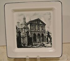 Ville Ceramic Decorative Plate Made in Italy