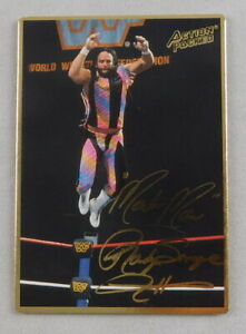 Randy Savage WWF Pro Wrestling Trading Card Action Packed 1995 WWE #13