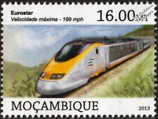 EUROSTAR e300 (British Rail Class 373 / TGV TMST) High Speed EMU Train Stamp