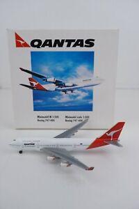 Herpa Wings Qantas Airlines Boeing 747-400 1:500 Diecast Airplane