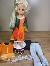Ideal Toys Velvet Doll Vintage Crissy family. Hair Grows/Movin' Groovin'