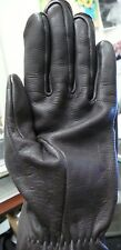 US MILITARY GLOVES SHELL LEATHER BROWN SIZE 4 GENUINE NEVER WORN