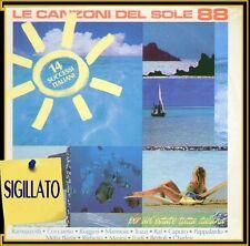 """COMPILATION """"CANZONI DEL SOLE 88 """" LP SIGILLATO CGD 1988"""