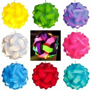 Elements Creative Jigsaw Light Lamp Shade Ceiling Diy Chandelier Accessories