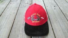 Grand Prix of Monaco Monte Carlo Baseball Cap Hat Formula 1 One Racing Red Black