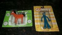 VINTAGE GUMBY & POKEY SUPERFLEX 1995 NEW IN PACKAGE