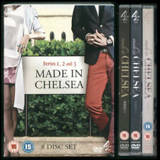 MADE IN CHELSEA series 1, 2 and 3. 8 DVDs