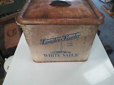 Vintage retro storage tin