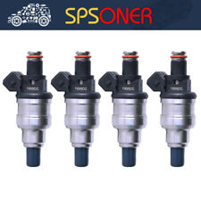 4x Fuel Injector 1000cc for Modify Honda B16 B18 D18 Ls EG EF EK Precision K24