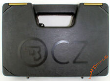 New CZ 75 Black & Gold CZUB, CZ-USA Full Size Pistol Handgun Gun Case Box