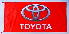 TOYOTA FLAG RED - SIZE 150x75cm (5x2.5 ft) - BRAND NEW