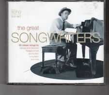 (HP332) The Great Songwriters, 60 classic tracks - 2003 triple CD