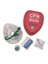 WNL Adult Child CPR Rescue pocket Mask with Belt Clip