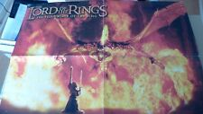 LORD OF THE RINGS POSTER  GANDALF & THE BALROG WARHAMMER COLLECTORS RARE OOP