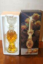 Vintage Avon Regency Candlestick Decanter Bottle 4 fl.oz of Elusive Cologne