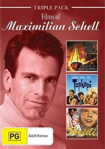 Maximilian Schell - Films of New and Sealed DVD 3 Disc Set