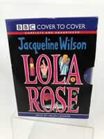 Lola Rose Audio Book Jacqueline Wilson Read Helen Lederer 6 Cassette Tapes NEW
