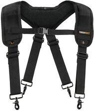 Reinforced Nylon Work Suspenders Heavy Duty Industrial Padded Utility Tool Belt